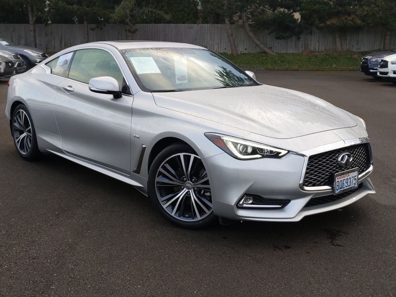 Certified Pre-Owned 2018 INFINITI Q60 2.0t Base
